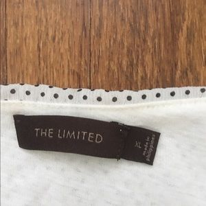 The Limited Tops - EUC The Limited XL polka 🌑 spaghetti Summer flowy